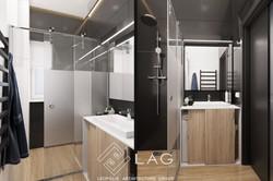 дизайн інтер'єру душової кіманти