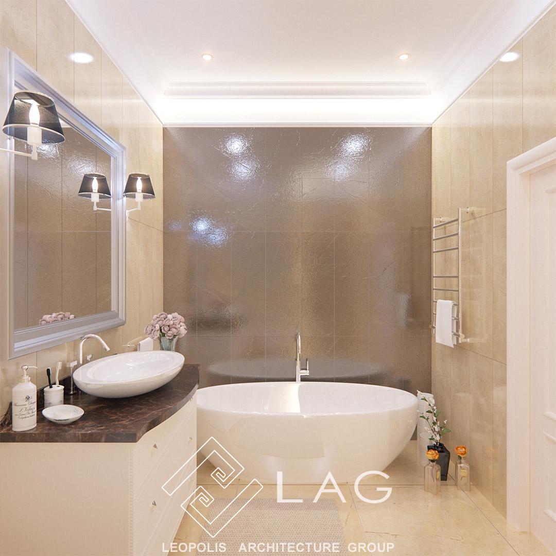 інтер'єр ванної кімнати