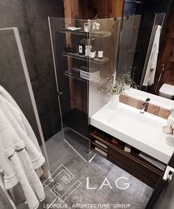 дизайн інтер'єру душової кімнати