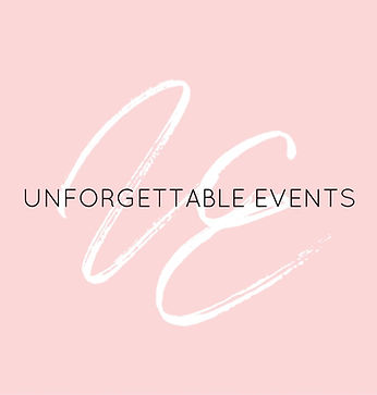 Unforgettable Events SoCal Logo