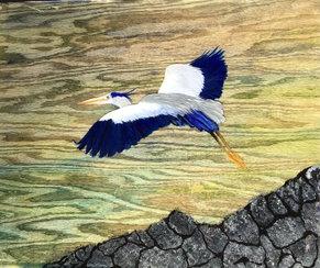 9. Heron in Flight