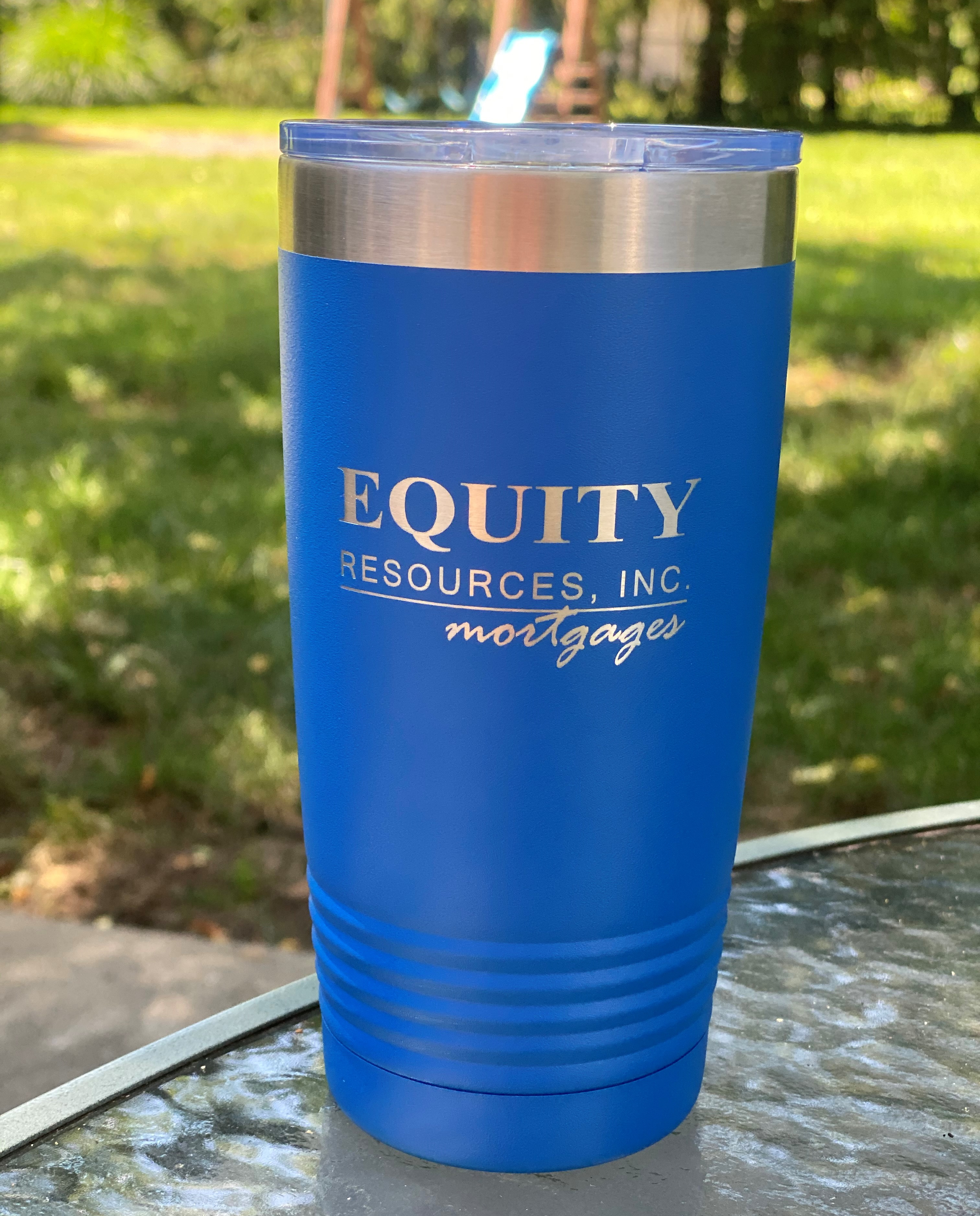 20 oz. Blue Equity Tumbler