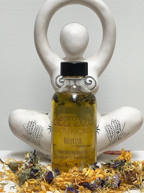 Nourish -Herbal Infused Breast Oil-