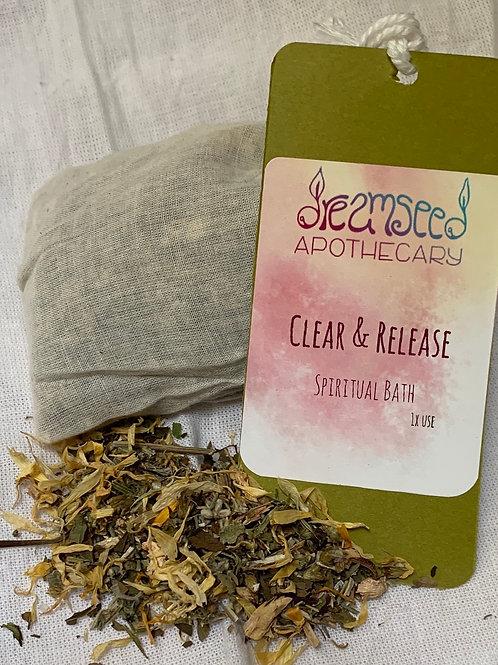 Clear & Release Spiritual Bath
