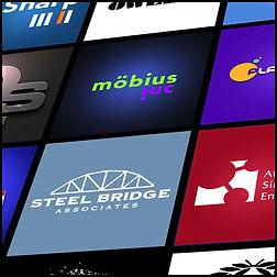 Logo design. visual branding.