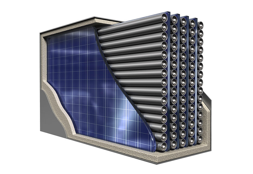 Thermophotovoltaic (TPV) Reactor cutaway