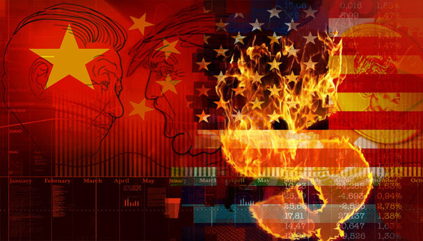 Atenção do mercado é no confronto EUA x China