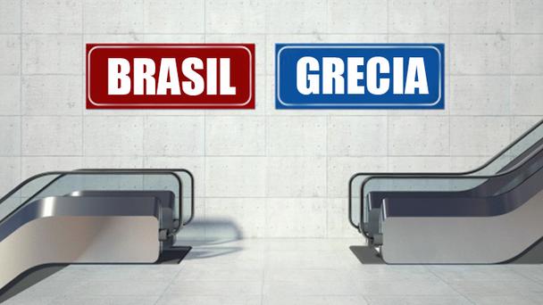 Sai Grécia, entra Brasil