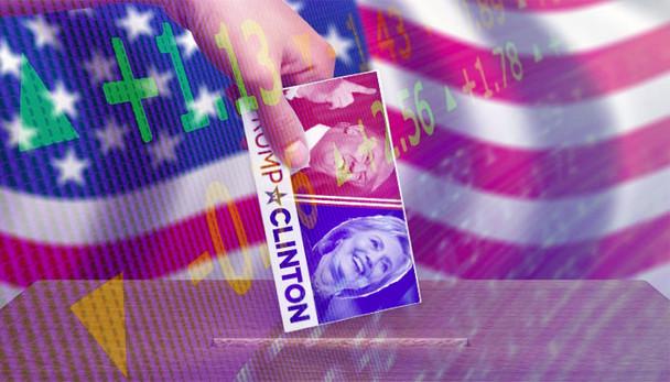 Cautela no dia da eleição nos EUA