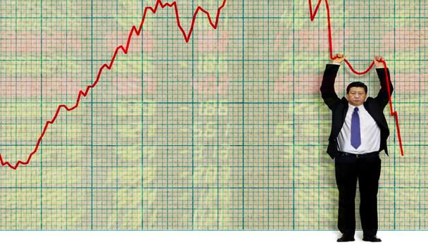 Mercado tenta evitar pânico na volta do feriado chinês