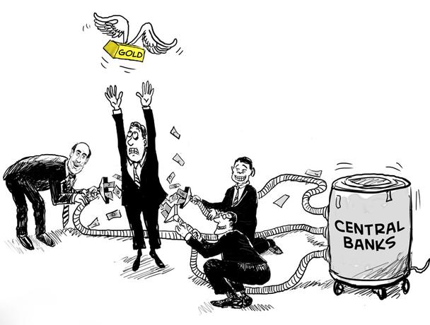 Mercados digerem BCs