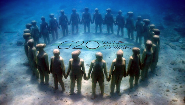 G-20 por água abaixo
