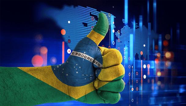 Brasil pega carona no otimismo global