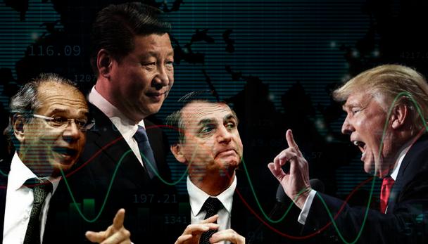 Mercado atento à cena política