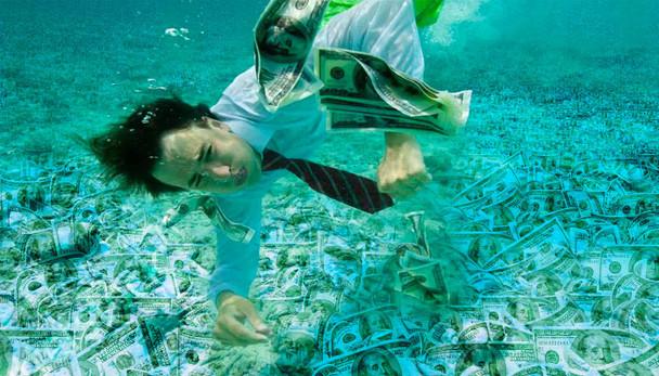 Dinheiro é como água
