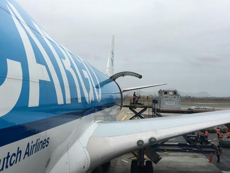 Bitácora de vuelo de una Groom: Perú – Inglaterra