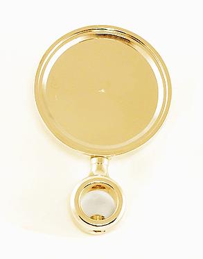 Медальоном для пивного крана Золото