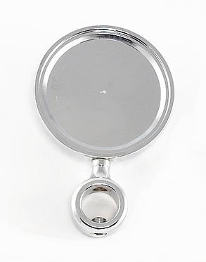 Медальон для пивного крана Хром