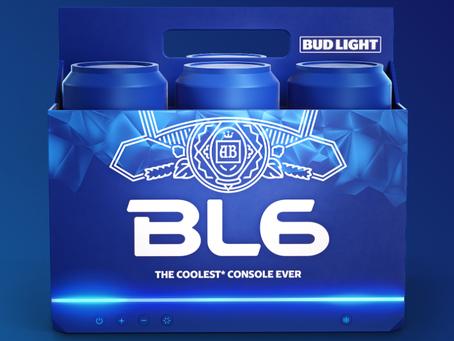 Bud Light анонсировала BL6 — игровую консоль со встроенным контейнером для пива