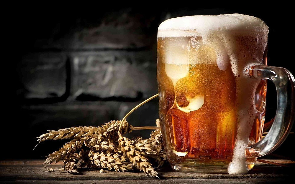 кран для пива поможет создать такую пенную шапку