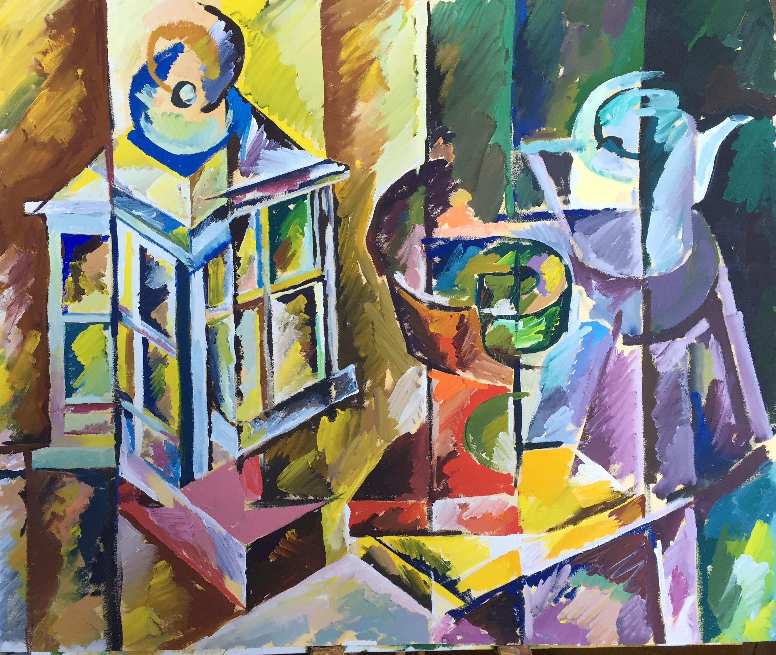 """Натюрморт """"Фонарь"""", 2015"""