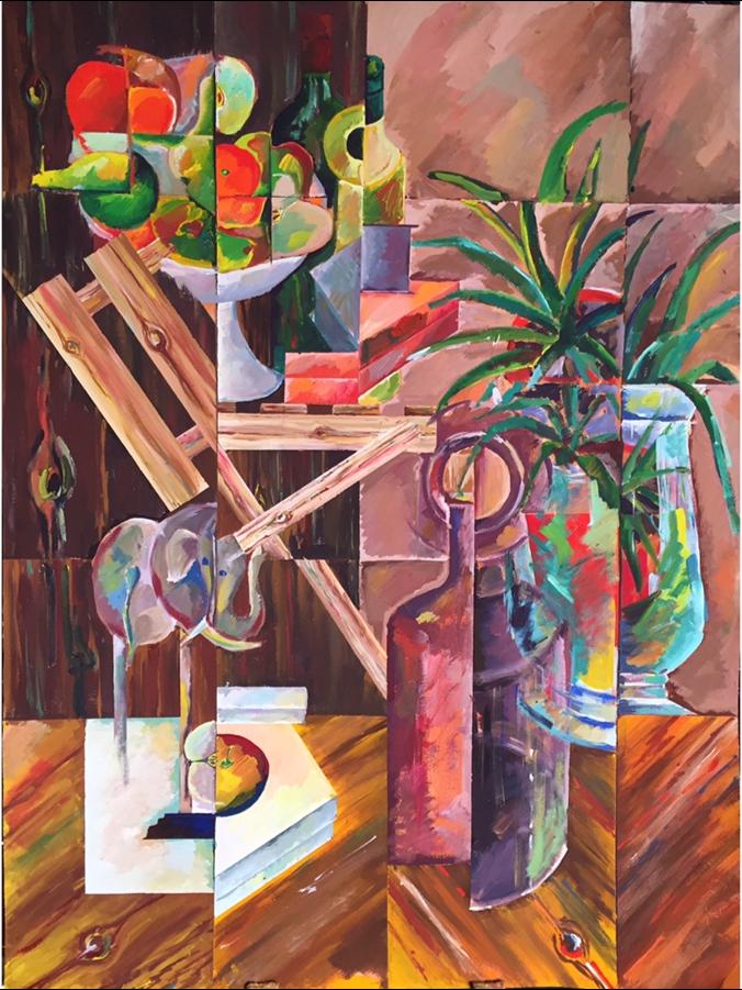 Натюрморт со Слоном / 2016