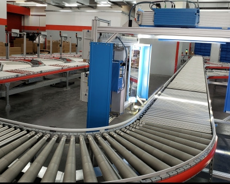 Successful Launch of Automated Sorting System in Logistics Warehouse of a renowned Freight Forwarding Company