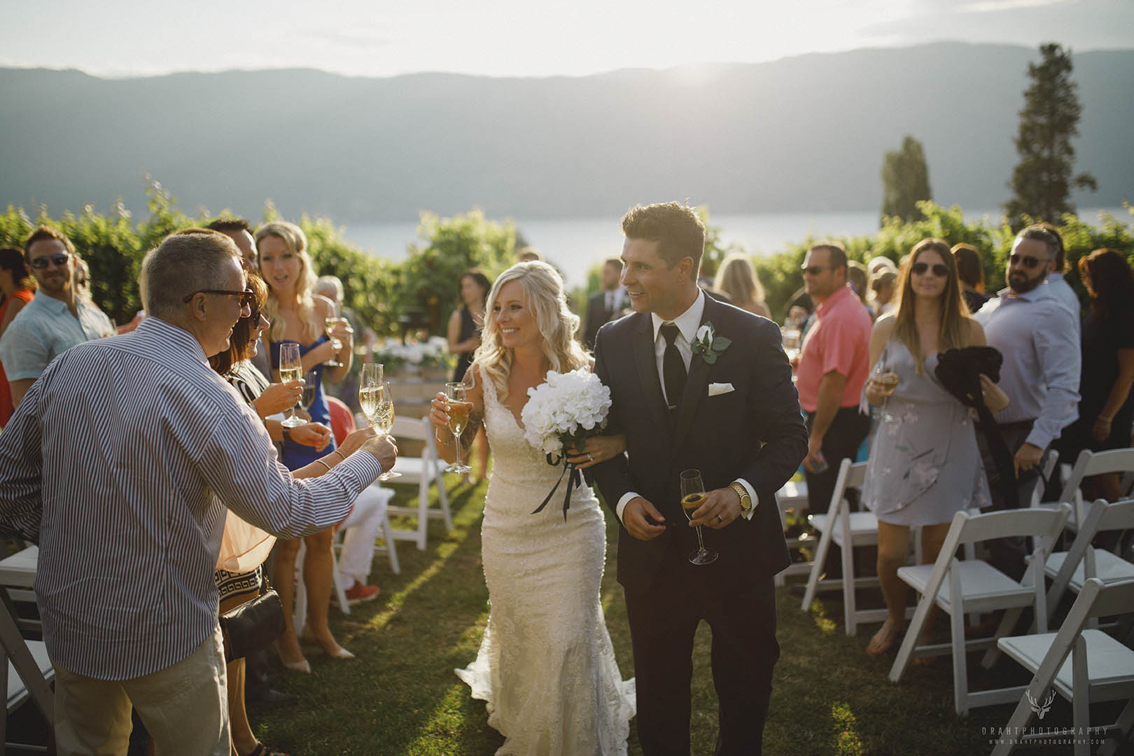 Weddings in the vineyard.