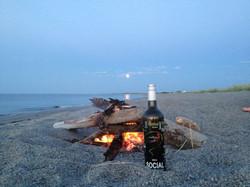 Wine on the beach sounds devine.