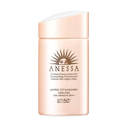 Anessa Perfect UV Sunscreen Mild Milk (for sensitive skin)