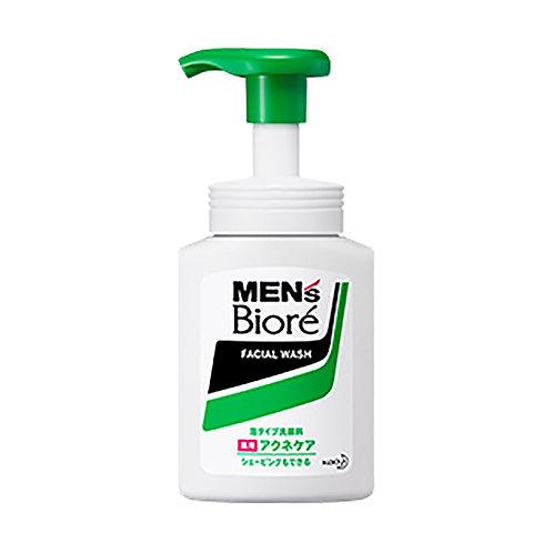 Bioré Men's Facial Wash Foam Acne Care