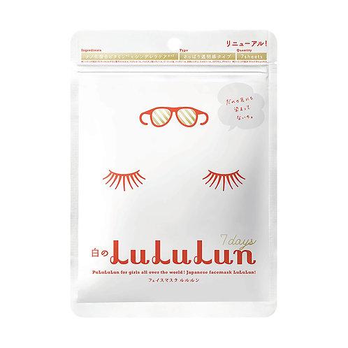 Lululun Face Mask (White)