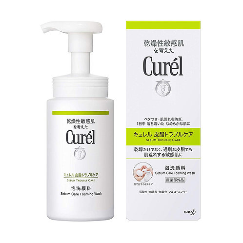 Curél Sebum Trouble Care Foaming Wash