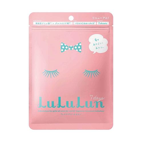 Lululun Face Mask (Pink)