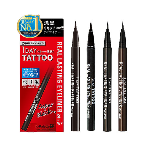 K-Palette 1-Day Tattoo Real Lasting Eyeliner 24h WP