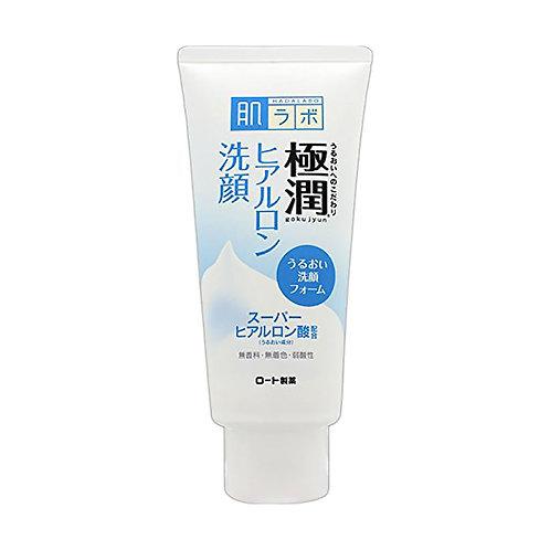 Hadalabo Gokujyun Hyaluronic Acid Face Wash