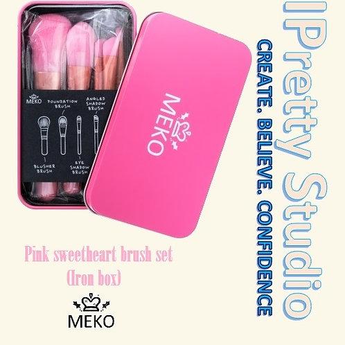 MEKO makeup brush set (iron box)