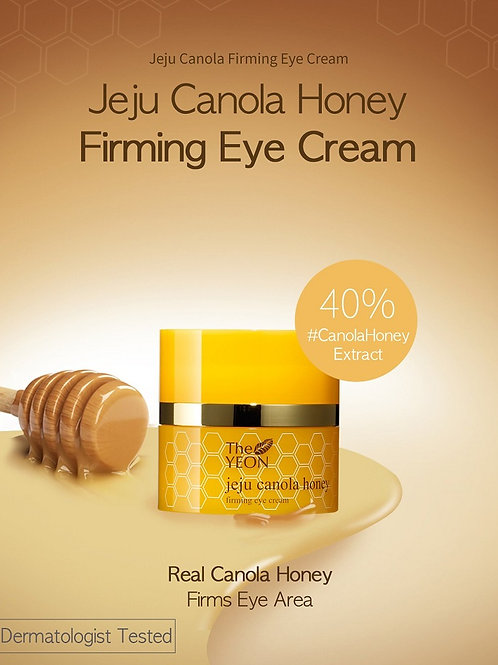 The YEON Jeju Canola Honey Firming Eye Cream (Drop ship)