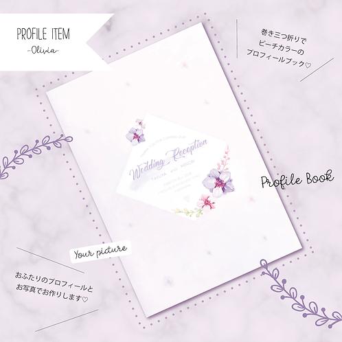 プロフィールブック -Olivia- 30部set
