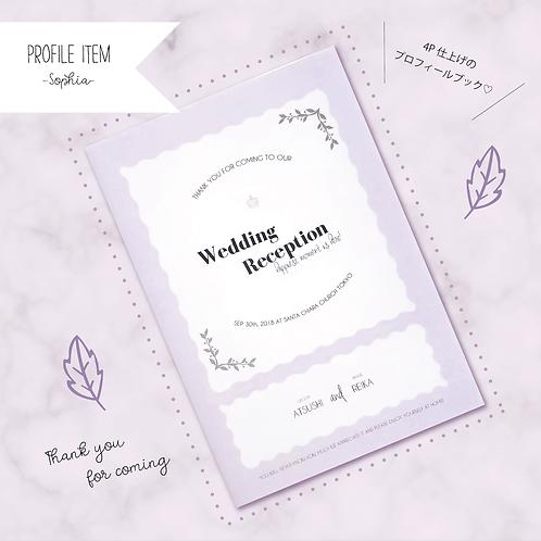 プロフィールブック -Sophia- 30部set