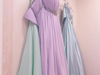 お色直し♡カラードレス
