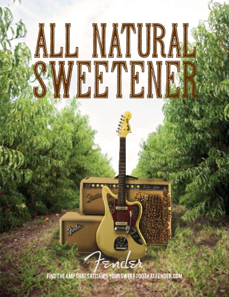 Fender   All Natural Sweetener - Ad