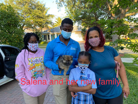 Salena and her family