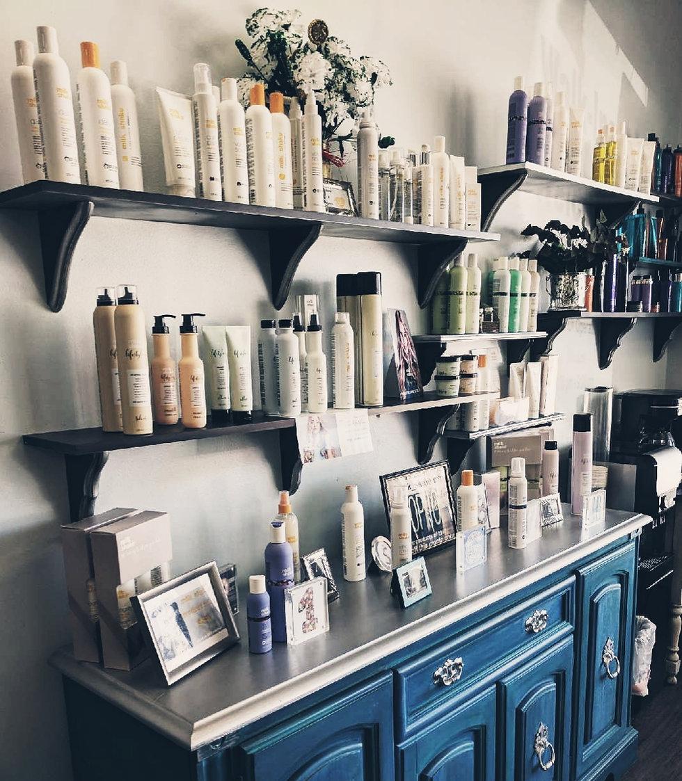 Salon Product Shelves