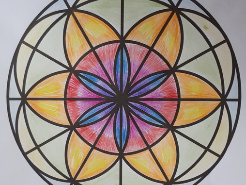 How to Journal Your Feelings Using Mandala Art (with Free Mandala Colouring Pages)