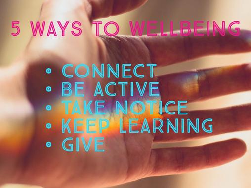 Creative Ways to Wellbeing