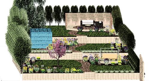Online Garden Design Service for Larger Garden