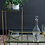 Thumbnail: Iris  Glass Rectangular Coffee Table