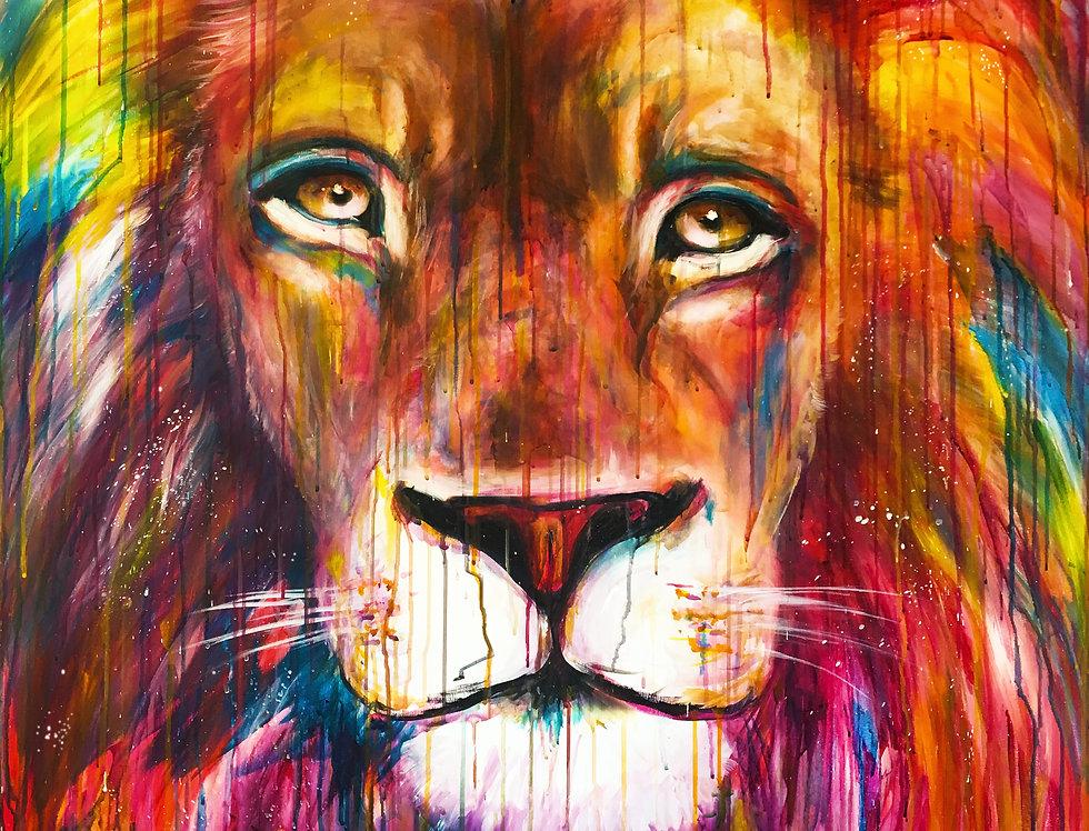 אריה ססגוני