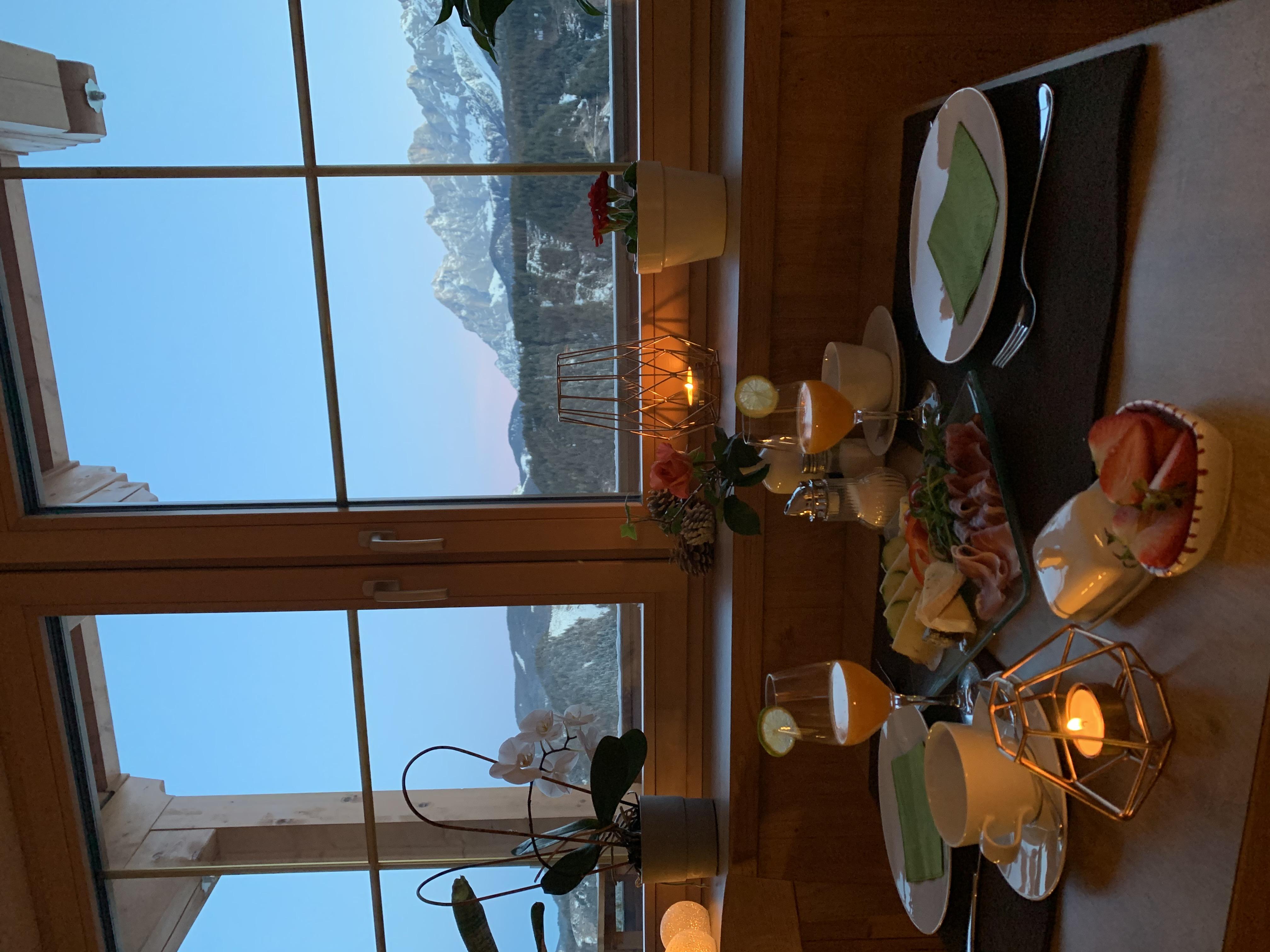 Frühstücken in der Panoramastube